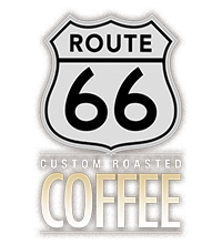Route 66 coffee logo