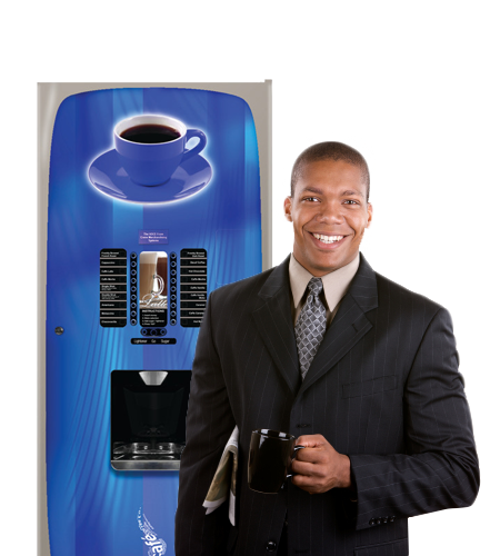 Vending machines and coffee machines in Nashville offices