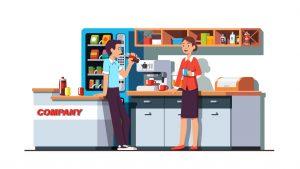 Nashville Vending | State-of-the-Art Vending Equipment | Company Culture | Break Room